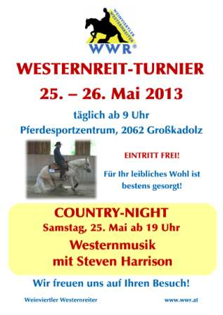 Western Turnier  CWN-C   ABGESAGT! image